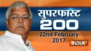 Superfast 200 | 22nd February, 2017 ( Part 1 ) - India TV