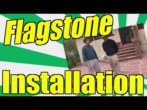 Flagstone Installation. Learn How You Can Lay Your Own Natur