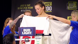 UFC 200 Weigh-Ins: Miesha Tate's Tense Moment