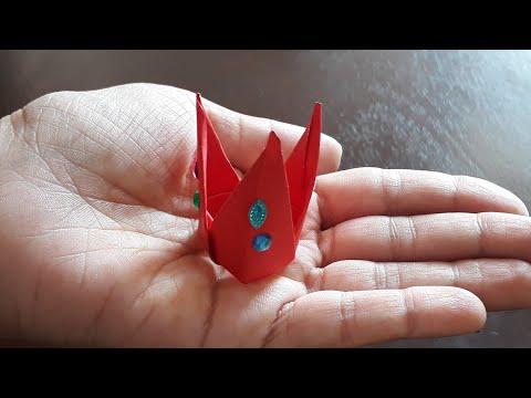 Easy DIY  Paper crown/Mukut for Laddu Gopal | Kids crafts| Janmashtmi Crafts
