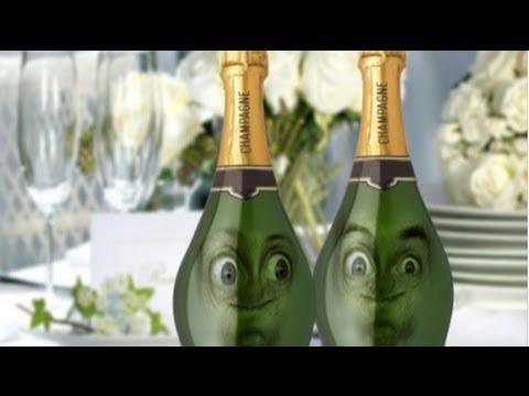 Souvent Champagne ! Joyeux anniversaire humour, carte anniversaire animée  KR01