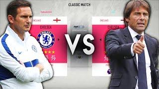 Lampard39s Chelsea VS Conte39s Chelsea - FIFA 20 Experiment