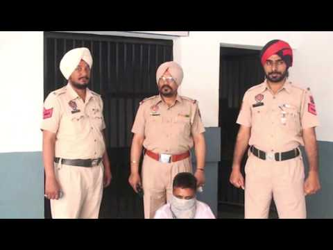 JHANJAR TV NEWS FROM PUNJAB LUDHIANA PERSON ARESTED WITH 20 BOTTLES OF UNAUTHORIZED LIQUOR  IN LUDHI
