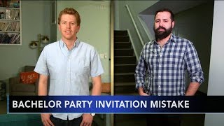 Stranger attends bachelor party he was accidentally invited to