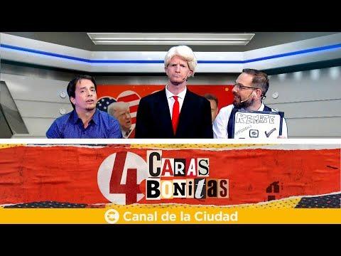 "<h3 class=""list-group-item-title"">Mundo Villar News: ¿Estás solo y te gusta Trump? Acá está tu salvación en 4 Caras Bonitas</h3>"