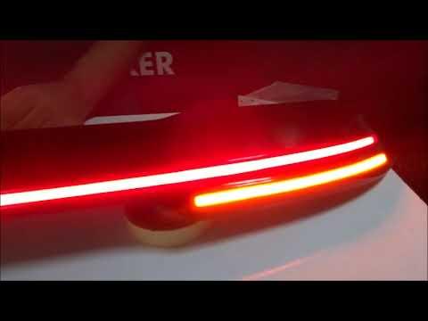 Led Spoiler How To Headlight Design Center