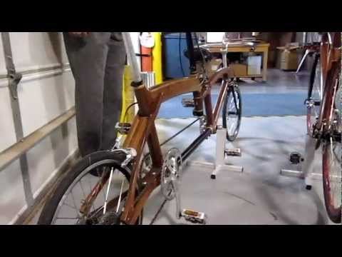 Wooden Bicycle Frames by Jay Kinsinger Cedarville University