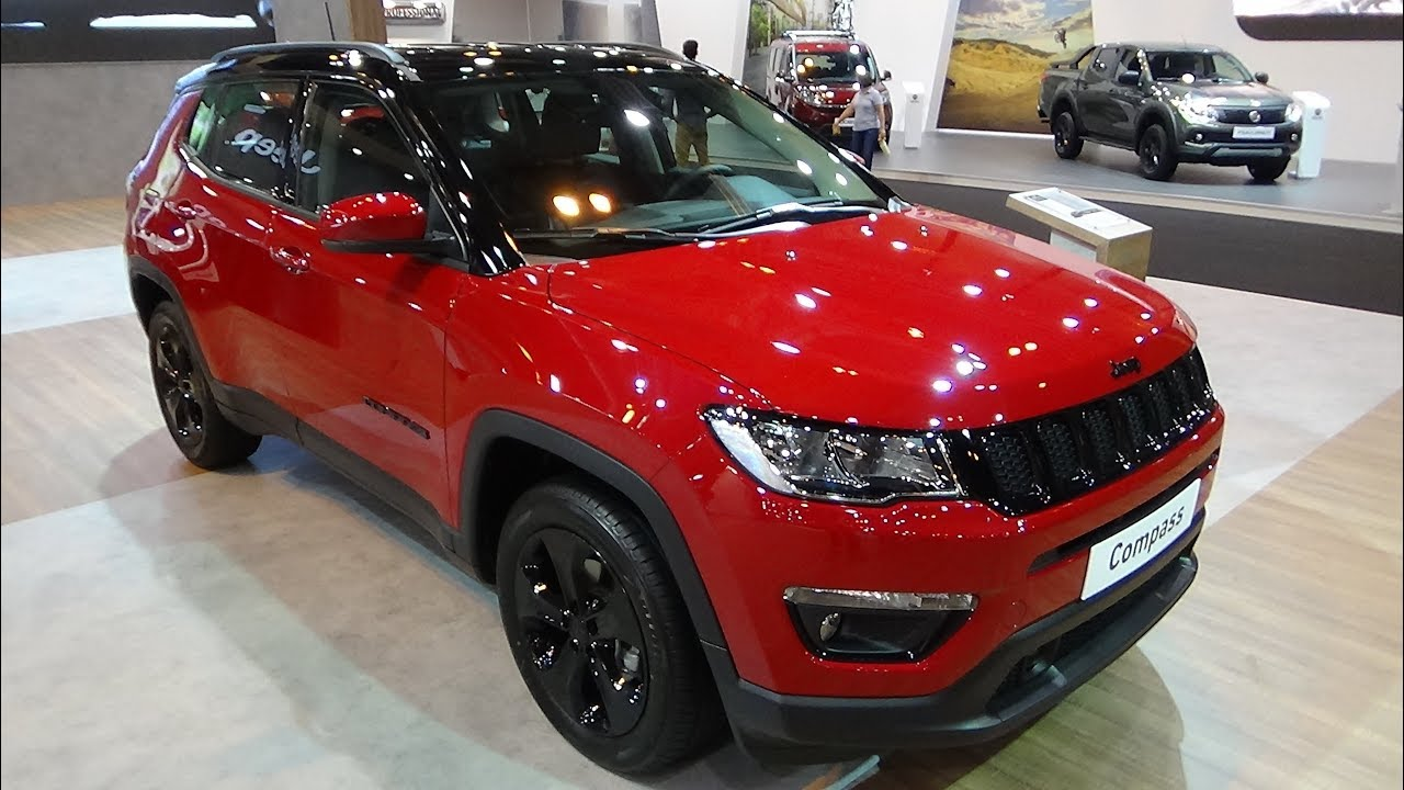2018 Jeep Compass Night Eagle 1 6 Multijet 120 4x2 Exterior And
