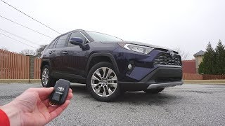 2019 Toyota RAV4 Limited: Start Up, Walkaround and Review