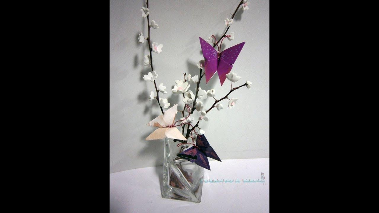 Manualidades con los ni os como hacer unas mariposas youtube - Como hacer manualidades de papel ...