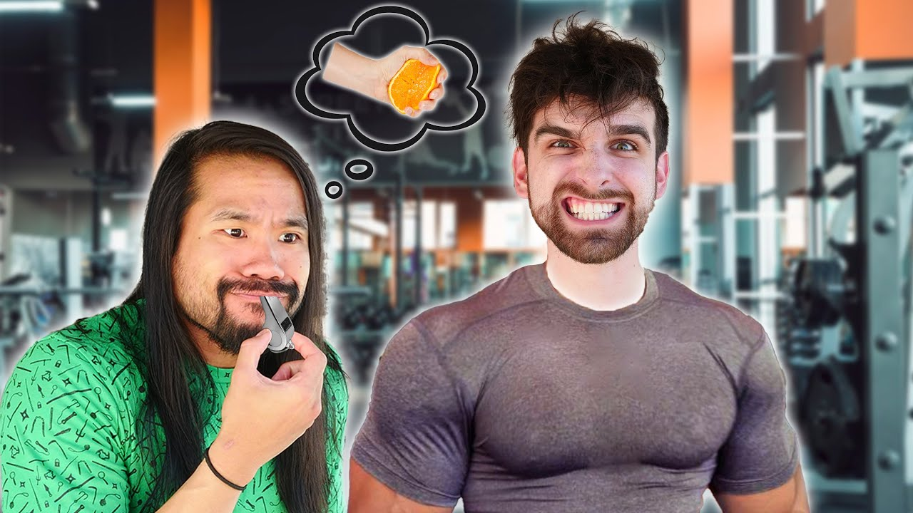 Can I Train My Best Friend into the World's Strongest Man in a VS Fruit Smashing Challenge?
