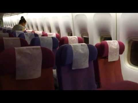 Thai Airways 747-400 BKK to SYD