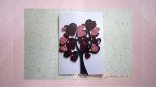 видео Квиллинг дерево (рябина, виноград и другие): как сделать