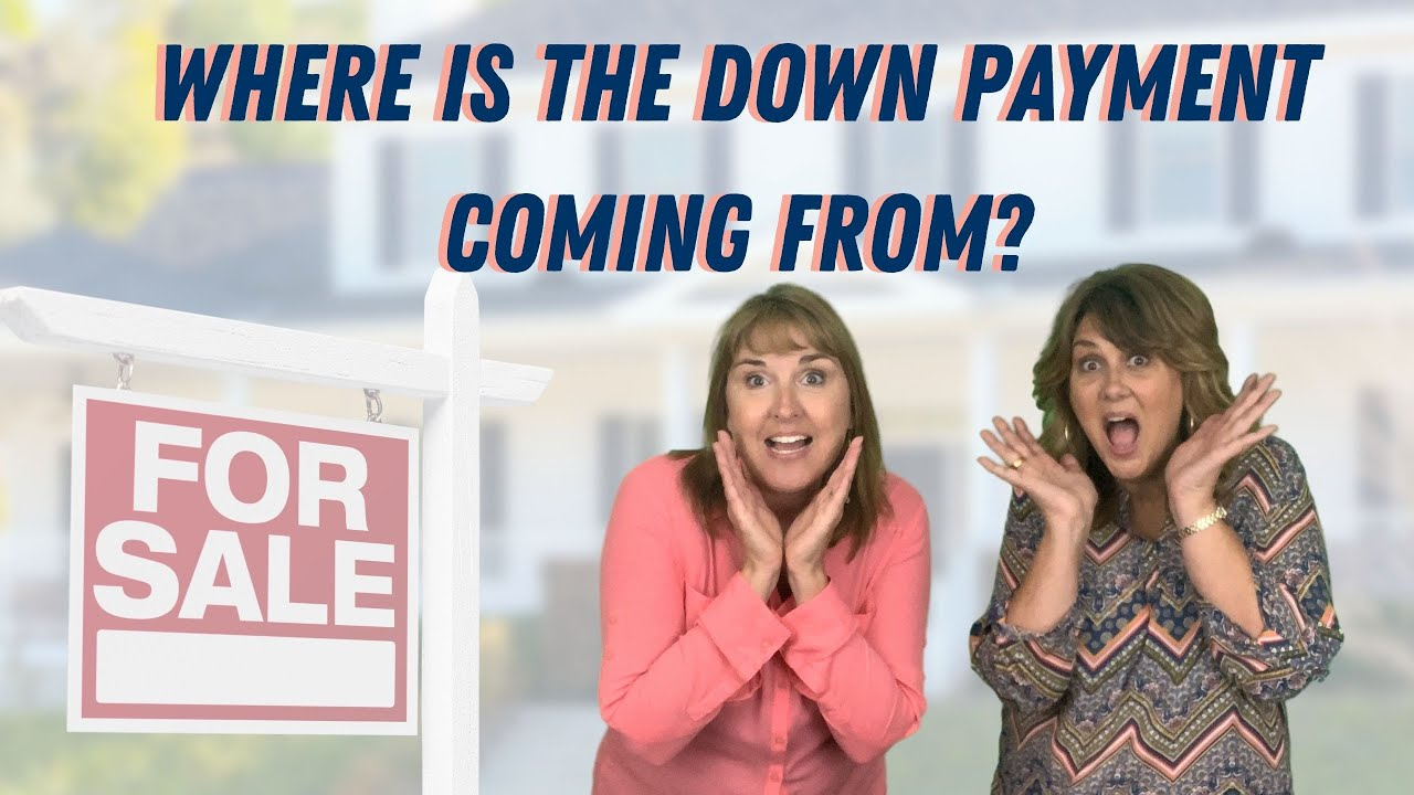 Where is Your Down Payment Coming From?