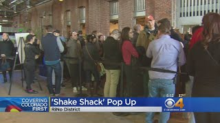 Shake Shack Pop-Up Draws In Hundreds; Grand Opening Still Months Away