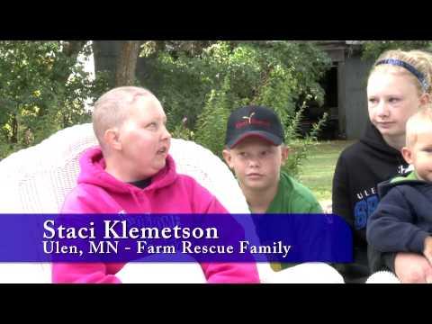 Farm Rescue, Non-profit helps a Minnesota farmer bring in his harvest