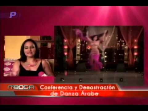 Conferencia y demostración de danza árabe