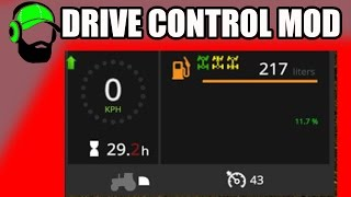 Farming Simulator 17 - How to use the Drive Control Mod v 4.02