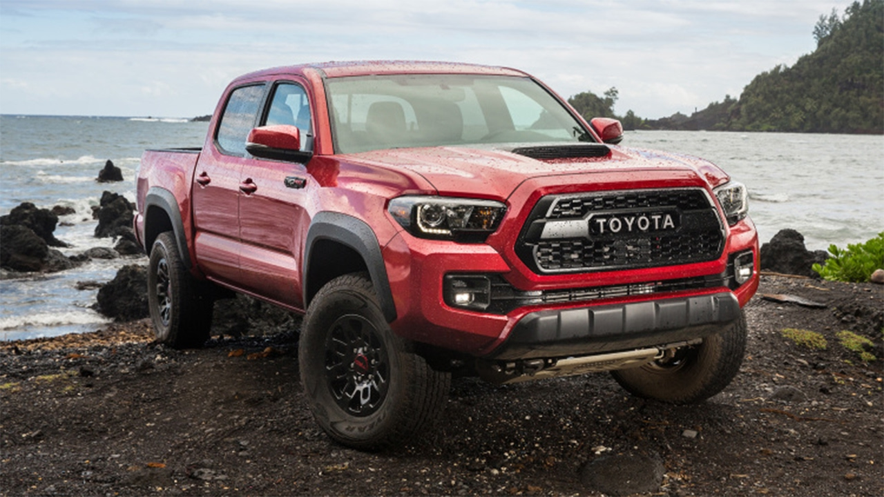 2017 Toyota Tacoma Trd Pro Ranks 4 Out Of 5 Compact Pickup Trucks You