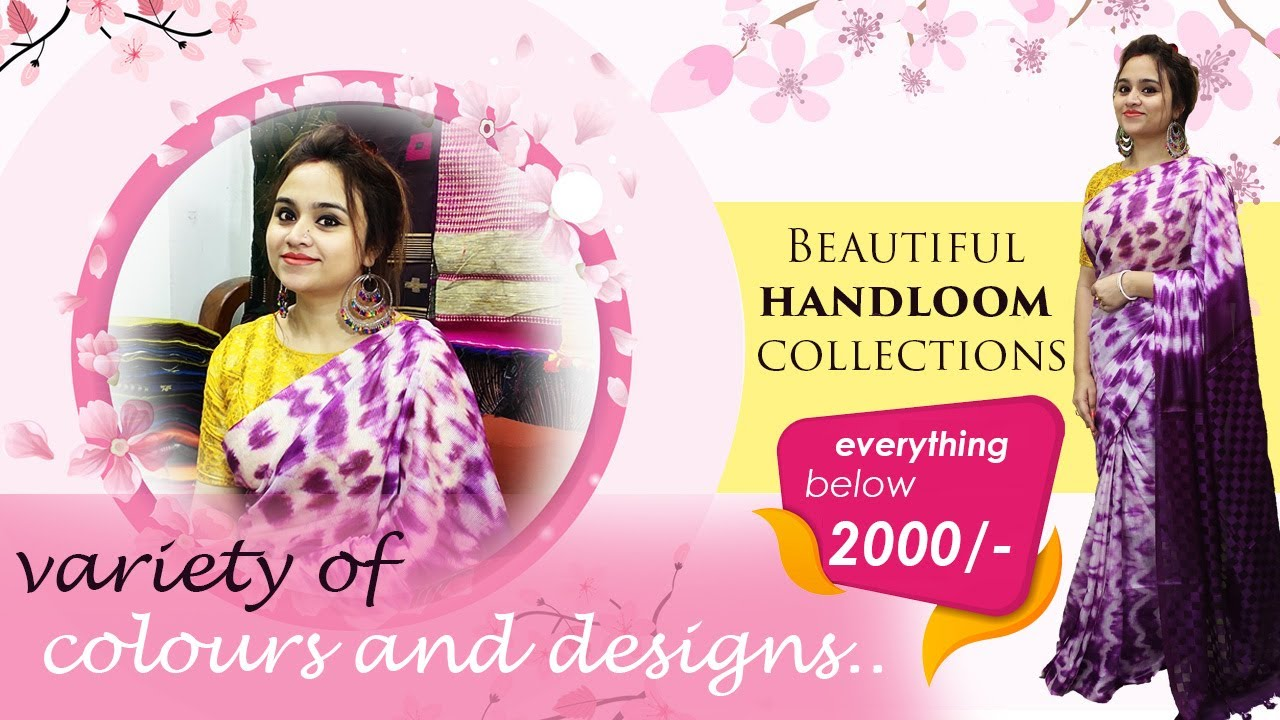 Beautiful Handloom Collections For Your Daily Wear - Everything Below ₹2000 (22nd September) - 19SH