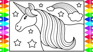 how-to-draw-a-unicorn-for-kids-unicorn-drawing-unicorn-coloring-pages-for-kids