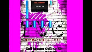 Coil Master Coiling Tool  Review,twisted Build + Free Organizer Diy On Tvc