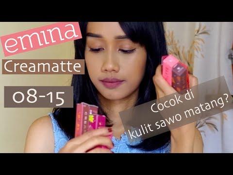 8-warna-baru-emina-creamatte-lip-cream-review,-swatches-&-tes-ketahanan