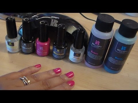 Red Carpet Manicure LED Gel Manicure Review & Demo