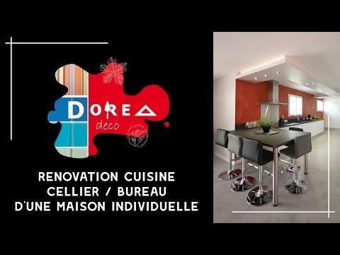 R novation et r agencement d 39 une cuisine arri re for Modele agencement cuisine