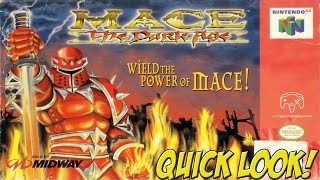 N64: Mace The Dark Age! Quick Look - YoVideogames