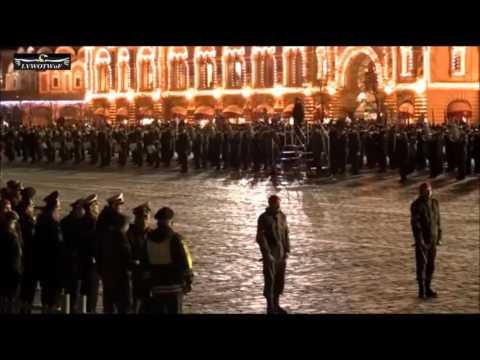 """Moscow V Day Parade 2017 """"Evening Rehearsal"""""""