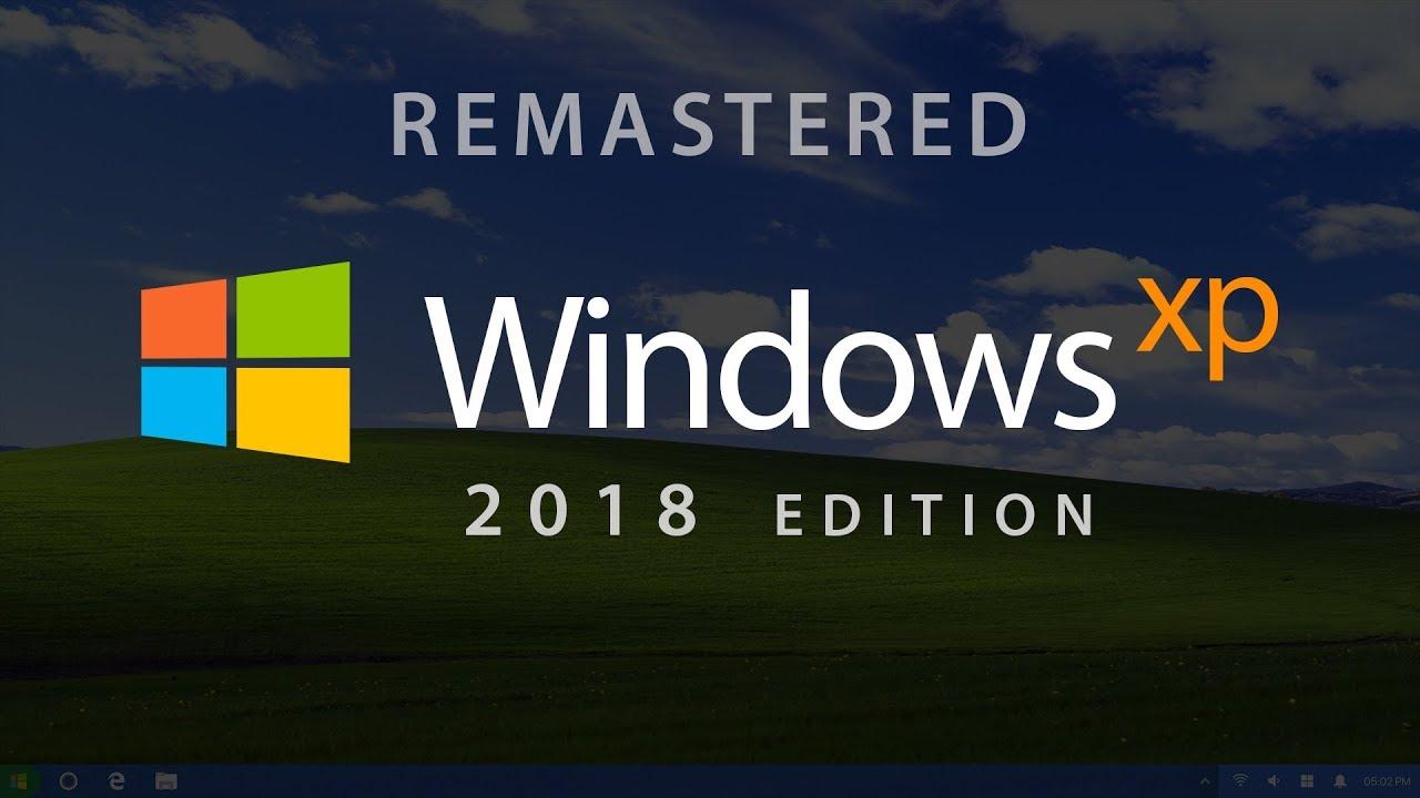 Windows XP 2018 Edition (Concept by Avdan) - YouTube