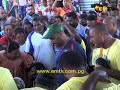 PNG Rugby League Star, Kato Ottio Passes On