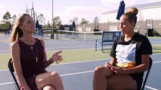 USTA Net Generation: Madison Keys Interviews Her Mom