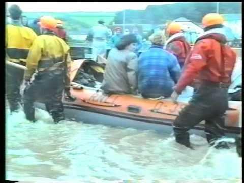 Bude Flood 1993  Part 1