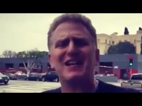 Michael Rapaport reacts to Charles Oakley