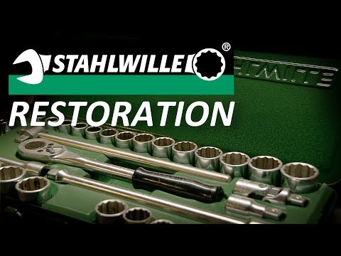 Stahlwille Socket Set Restoration