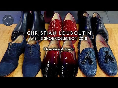 quality design a9006 5bcc4 Men's Christian Louboutin Shoe Collection (6 pairs so far - 2018)