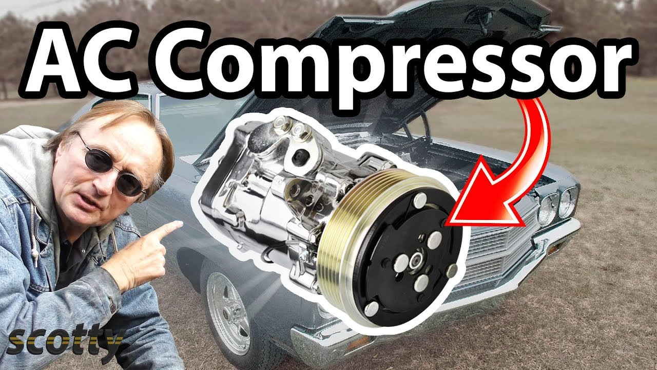 How To Replace Ac Compressor In Your Car Youtube 2007 Buick Lacrosse Wiring Diagram