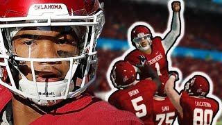 Oklahoma's Kyler Murray vs Alabama | NCAA Football 14 Challenge | 2018 Orange Bowl