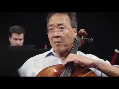 YoYo Ma & The Knights record Ascending Bird on the album Azul