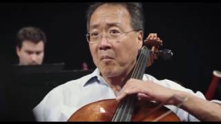 Yo-Yo Ma & The Knights record 'Ascending Bird' on the album Azul