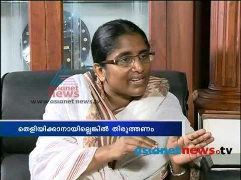Shanimol Usman defy VM Sudheeran : Asianet News Exclusive Interview Part 2