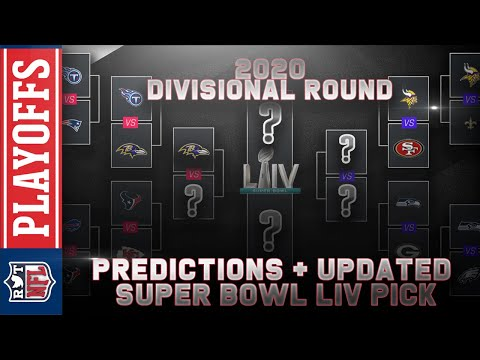 2020 Divisional Round Predictions Nfl Playoffs Super Bowl Liv