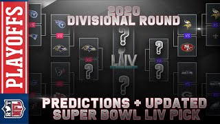 2020 Divisional Round Predictions | NFL Playoffs + Super Bowl LIV
