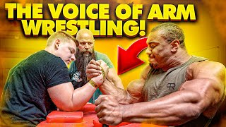 THE VOICE OF ARM WRESTLING!