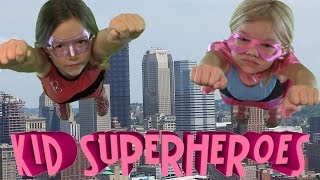 Kid Superheroes!  part 1 of 2