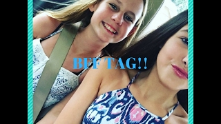 Bff Tag Challenge! (first video)- elle and ally