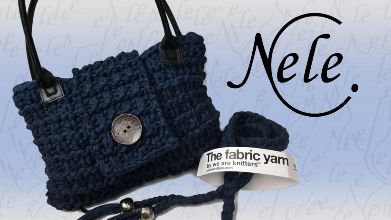 Stricken Für Anfänger Einfache Tasche Stricken Aus Textilgarn Diy