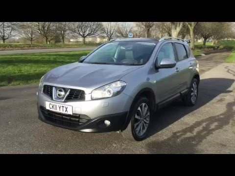 Grey Nissan Qashqai 1 5 DCI Turbo Diesel Tekna 6 Speed Pan Roof McCarthy Cars Croydon